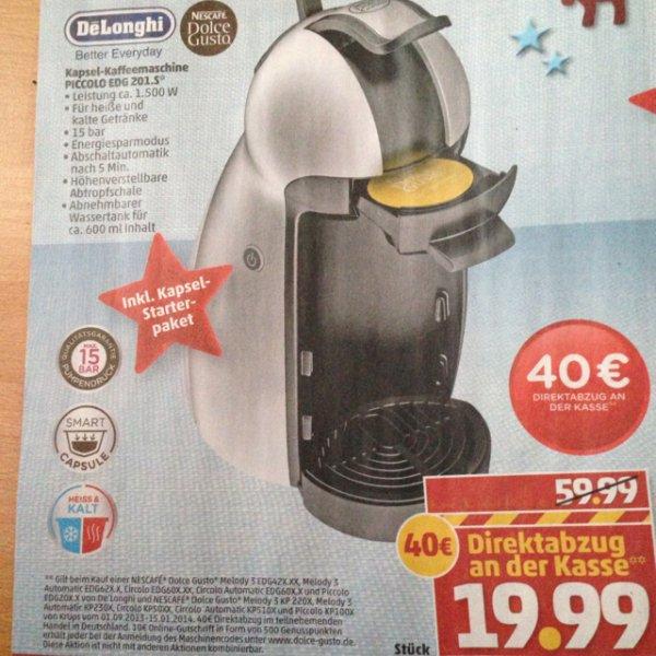 Dolce Gusto Kapsel Kaffemaschine 19,99