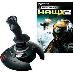 Thrustmaster Joystick T-Flight Stick X + H.A.W.X 2