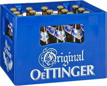 Original Oettinger Pils, Export oder Radler für 4,40€ + Pfand im Kaufland
