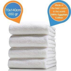 4x Handtücher aus 100% ägyptischer Baumwolle für 19,95€ zzgl. 5,95€ Versand @iBOOD