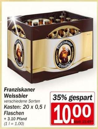 Franziskaner Hefeweizen für 10 € bei HIT München [LOKAL]