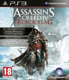 Assassins Creed: Black Flag - Special Edition PS3/Xbox 360 für 39,75€ inkl. Versand