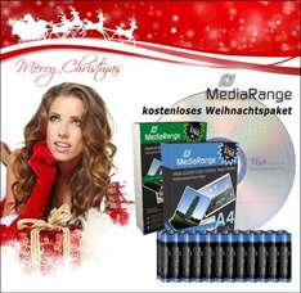 MediaRange Weihnachtspaket - kostenlos @ CDRohlinge24.de
