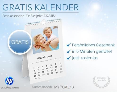 Fotokalender für 4,95€ @myprinting.de