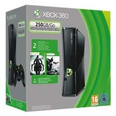 Microsoft Xbox 360  250GB + Batman: Arkham City + Darksiders 2 für 184€ @ redcoon.de