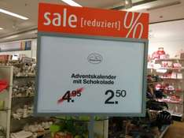 [offline] Kaufhof Köln - diverse Adventskalender bereits 50% reduziert