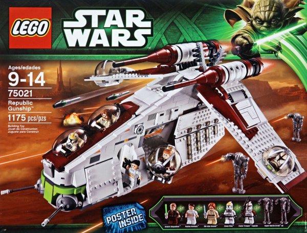 Offline Karstadt ( online ausverkauft ) - Lego Star Wars 75021 Republic Gunship