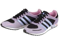 adidas Damen/LAdy-Schuhe L.A. Trainer Sleek (schwarz/purple) € 39,94 @ lidl.de