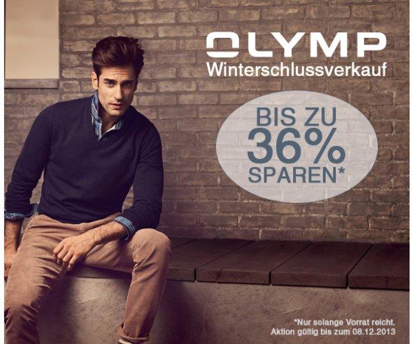 Olymp Winter-Sale u.a. Level 5 Hemden bis 36% reduziert