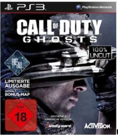 [Amazon.de] Call of Duty Ghosts Free Fall Edition (PS3) für 37,99 + 5 Euro USK 18 Versand