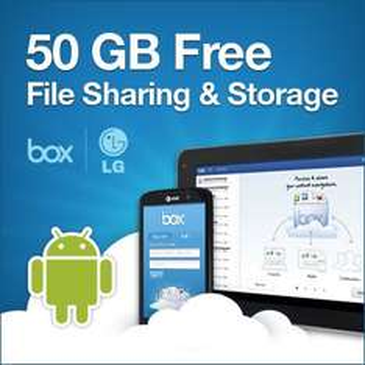 50 GB kostenlosen Cloud Space bei box.com für Besitzer von LG Devices
