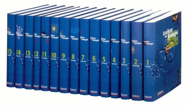 Kostenloser Online-Zugang zum weltweit größten BIOLOGIE-LEXIKON in 15 Bänden