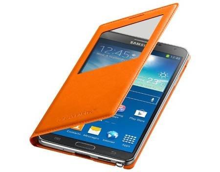 Note 3 S-View Cover für 31,39 bei Meinpaket (Orange und Blau)