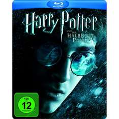 Harry Potter Steelbook Blurays Teil 1-6 für je 8,97.