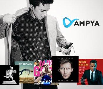 AMPYA Musikstreaming Dienst für Vodafone (RED) Junge Leute - Kostenlos!