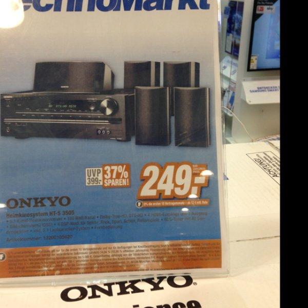 Local Onkyo HT-S 3505 249,- Technomarkt Unterhaching