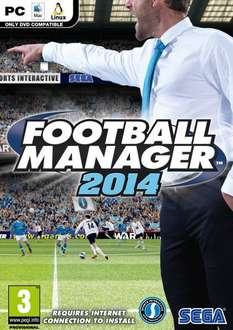 Sega Football Manager 2014 für PC, Mac, Linux [zavvi.com]