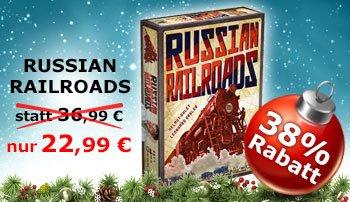 [Brettspiel Für Viel-Spieler] Russian Railroad - Essen Neuheit für 22,99