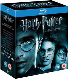 Blu-ray Box - Harry Potter - The Complete Collection (1-7.2) für 28,82€ @ Black Friday Amazon UK