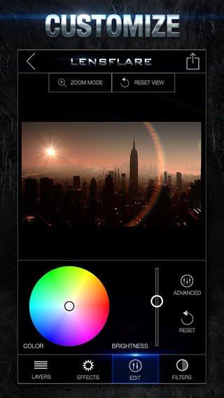 LensFlare für iPhone und iPad kostenlos