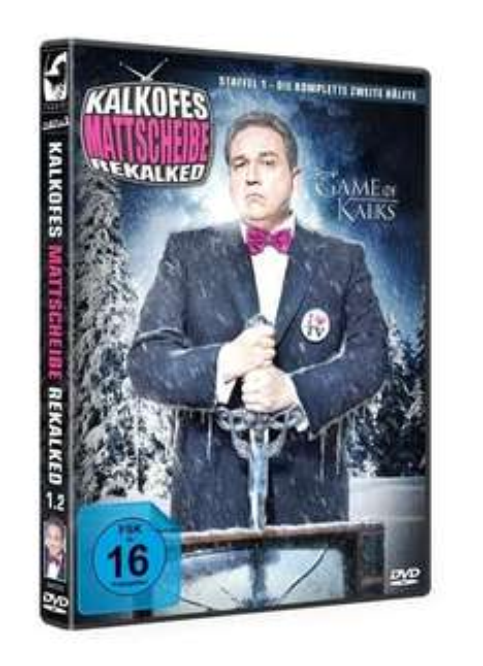 """DVD: """"Kalkofes Mattscheibe Rekalked - Staffel 1 - Die komplette zweite Hälfte"""" für nur 9,95 € (zzgl. Versand)"""
