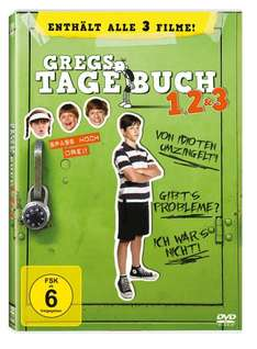 Gregs Tagebuch 1, 2 & 3 [3 DVDs] @ amazon