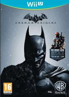 Batman: Arkham Origins (Wii U) für 27.73€ @Game