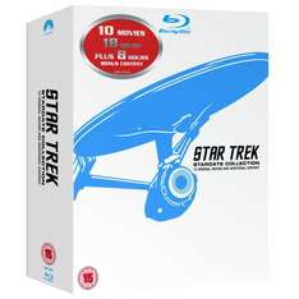[amazon.co.uk] Star Trek - The Movies 1-10  Blu Ray Box