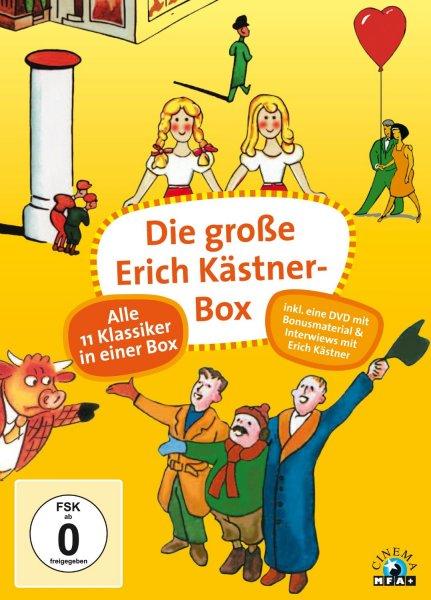 Die große Erich Kästner-Box (12 Discs) für 27,97 €