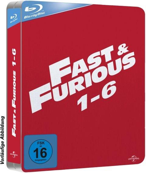 Fast & Furious   -  1-6  (Blu-ray)  online ( nicht in einer box! ) grins