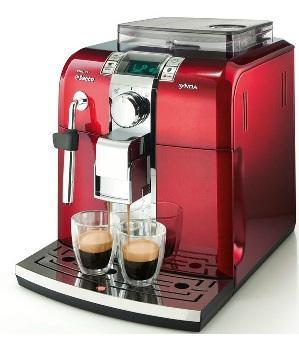 Kaffeevollautomat, Philips, »Saeco Syntia HD 8837/31« Klavierlack-Rot 338,95 Euro