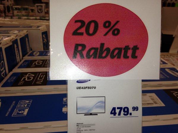 [LOKAL Bielefeld] 20% Rabatt auf viele Fernseher - Marktkauf Gadderbaum
