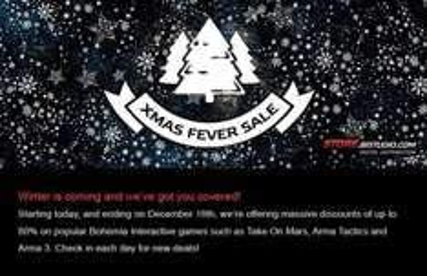 Bohemia Interactive - X-Mas Fever Sale
