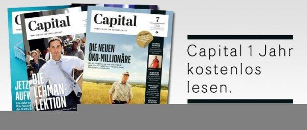 1 Jahr Capital Abo kostenlos durch allmaxx