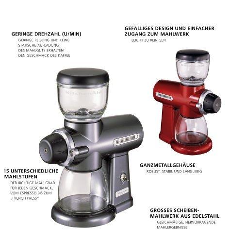 KitchenAid Artisan für 129€- Kaffeemühle