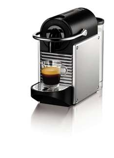 (Amazon) DeLonghi EN 125.S Nespresso Pixie Electric Aluminium + 60€ Nespresso Club Gutschein für 89,00€