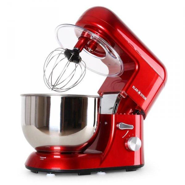Klarstein Küchenmaschine Bella Rossa (oder weitere Farben) mit 1200 Watt für nur 69,99 ohne versandkosten