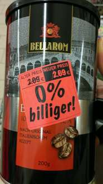 [Lokal Lidl Hannover] Bellarom Espresso