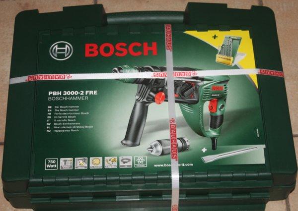 Bauhaus: Bosch Bohrhammer PBH 3000-2 FRE für 179,08 EUR