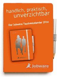 Jobware Kalender für das Jahr 2014