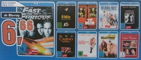 [offline, lokal Berlin?] Saturn diverse Blu-Rays für 6,66 €
