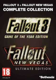 [Steam] Fallout 3 GOTY + Fallout: New Vegas Ultimate Edition @ game.co.uk