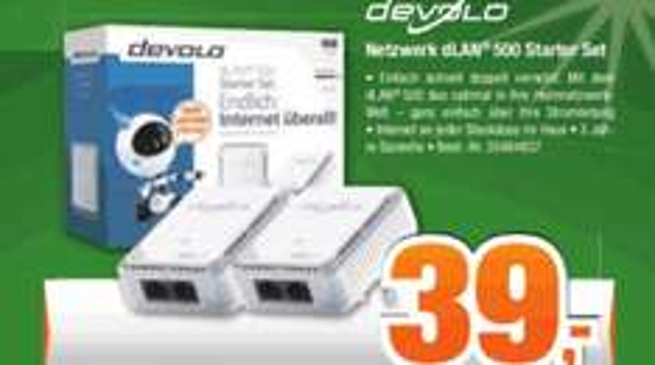 Devolo dLan 500 Duo Starterset 39€ Expert Bening