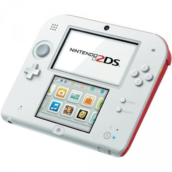 Conrad.de - Nintendo 2DS Konsole Weiß/Rot effektiv 109€ (PayPal o, Sofortüberweisung)