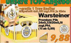 [LOKAL - AKTIV IRMA] Oldenburg, Wardenburg, Hude - Kiste Warsteiner & Sixpack Warsteiner Radler Grapefruit zusammen 9.88€