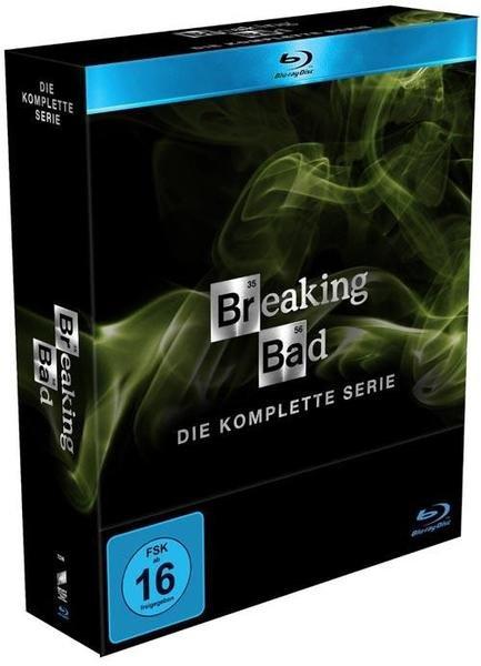 Breaking Bad - Die komplette Serie (Blueray oder DVD) nur 84,15€ (vorbestellen)
