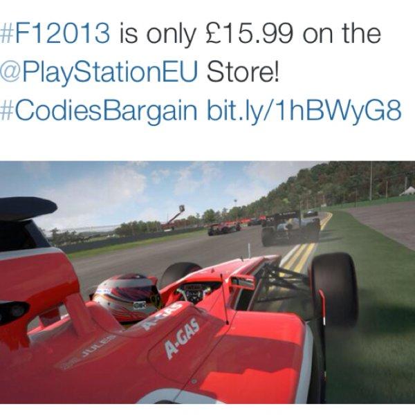 F1 2013 (PS3) für £15,99 im PlaystationEU Store