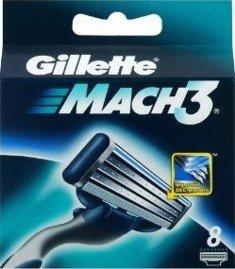 Gillette Mach3 Rasierklingen 12er Set
