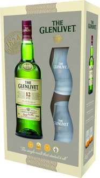 [lokal?!] - Glenlivet 12Y Promopack mit 2 Gläsern @ Real Coesfeld