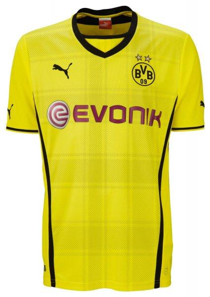 PUMA Herren BVB Trikot Home Replica Shirt 2013/14 in 4XL / 5 XL